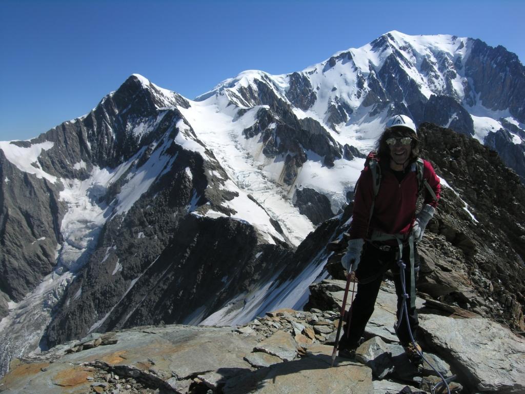travers 233 e miages bionnassay mont blanc grandes courses alpinisme