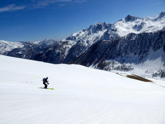 Ski de randonnée dans le Val Stura
