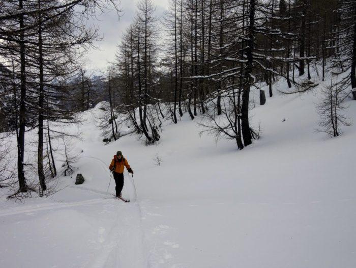 ski de randonnée dans le Mercantour 1