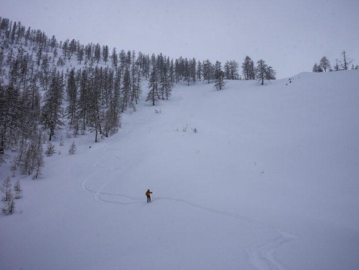 ski de randonnée dans le Mercantour 3