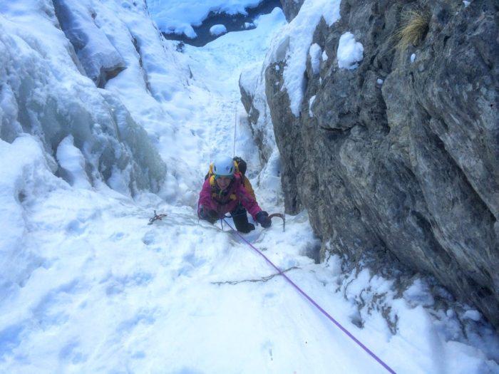 cascade de glace dans les Alpes-Maritimes 1