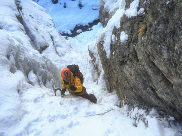 cascade de glace dans les Alpes-Maritimes 2