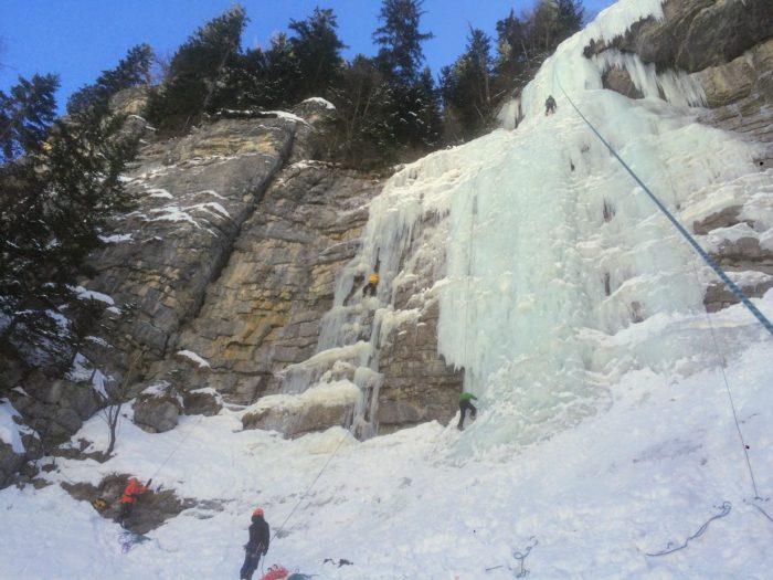 cascade de glace dans les Alpes-Maritimes 4