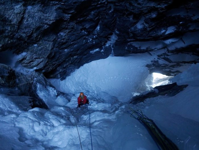 cascade de glace à Kandersteg : Metro 4