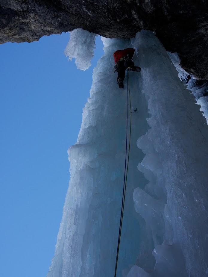 cascade de glace à Kandersteg : Metro 7