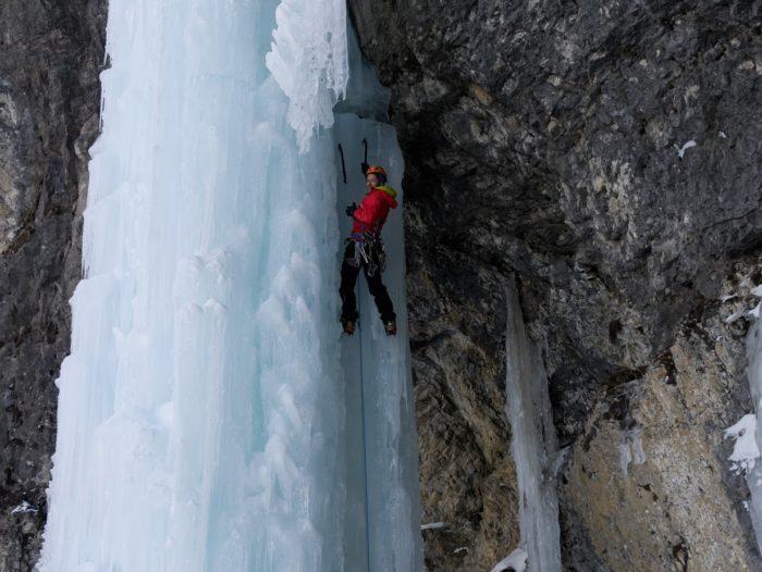 cascade de glace à Kandersteg : Metro 8