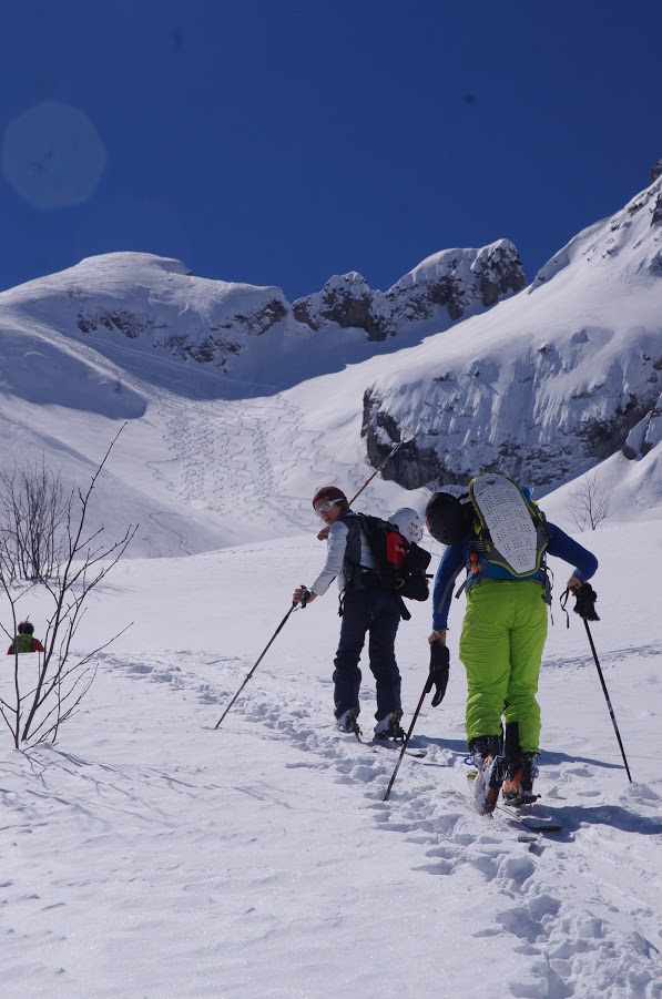 ski de randonnée en Val Maïra 2