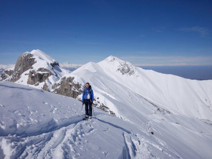 ski de randonnée en Val Maïra 3