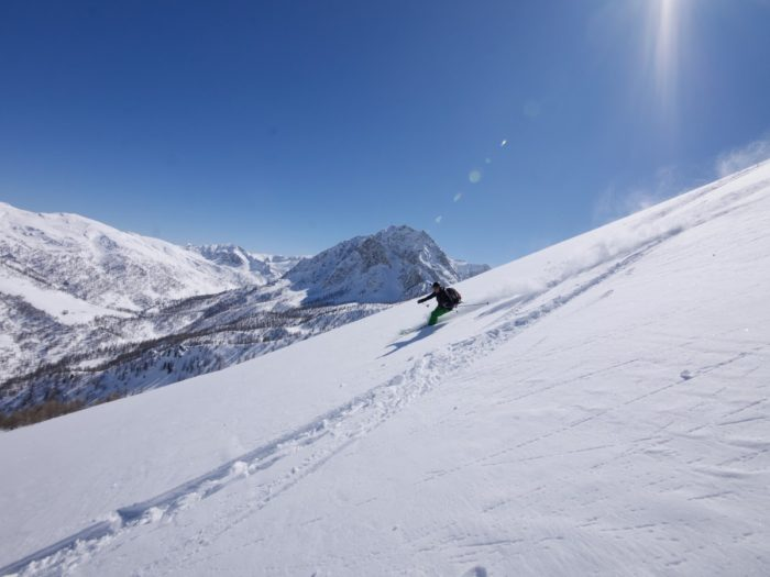 ski de randonnée en Val Maïra