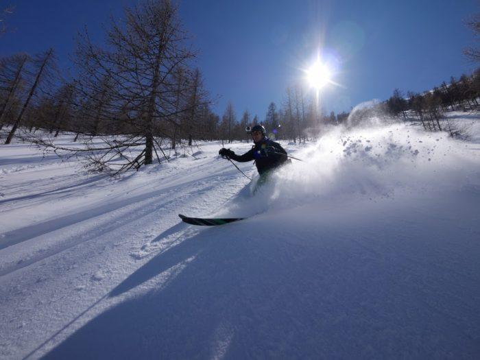 ski de randonnée en Val Maïra 6