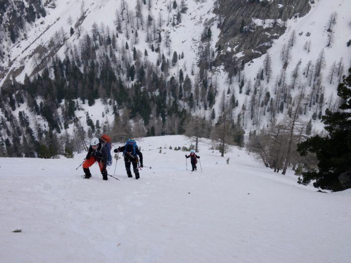 Alpinisme en Vésubie 1
