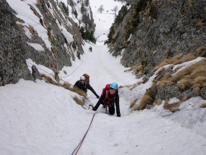 Alpinisme en Vésubie 3
