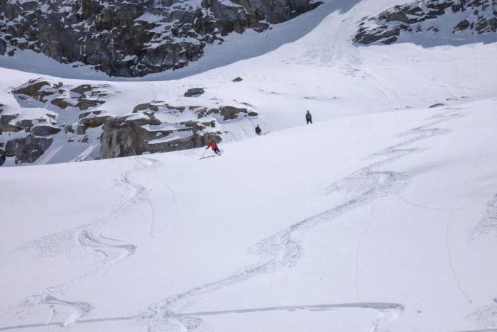 Grand Paradis à ski