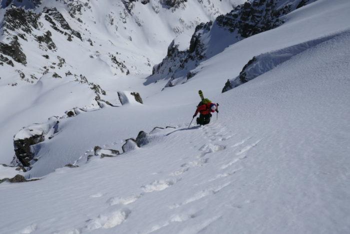 Ski alpinisme dans le Mercantour 1