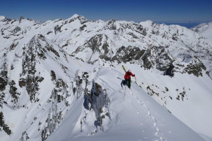 Ski alpinisme dans le Mercantour 2