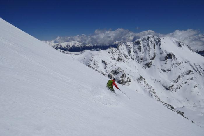 Ski alpinisme dans le Mercantour 3