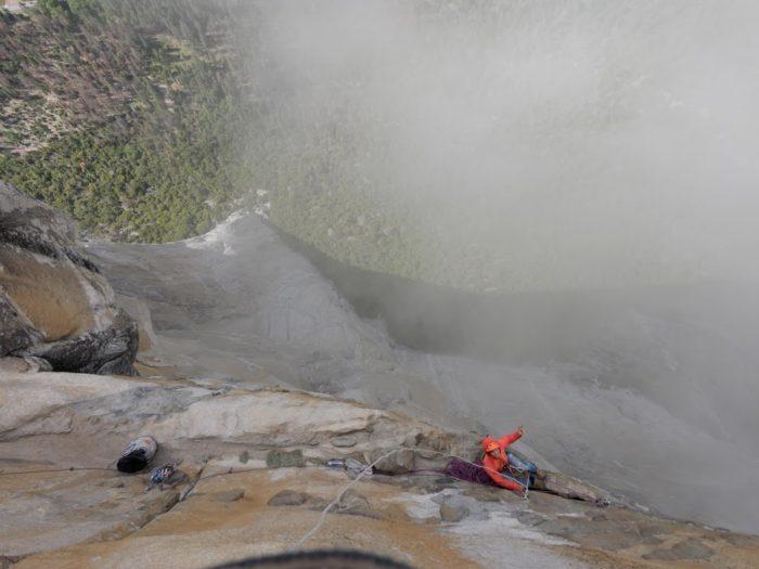 Escalade à El Capitan